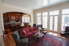 Traditional American Colonial Home Living room Renovation - Colorado Springs, Colorado