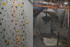 Indoor Rock Climbing - Commercial Construction