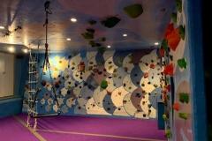 Indoor Commercial Climbing Construction Process Colorado Springs