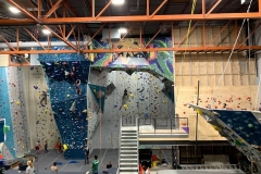 Indoor Rock Climbing Wall Commercial Construction Process - CO