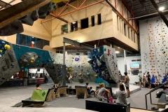 Indoor Climbing Gym Construction Process - Colorado