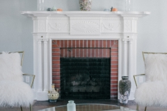 Classic Home Renovated Fireplace