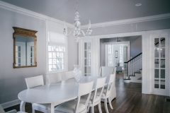 Bright Dining Room Renovation - Classic Home Renovation Update