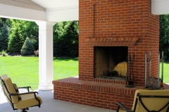 Perfect Classic Home Exterior Fireplace - Residential Renovation in Colorado Springs