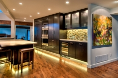 Entire Bright Contemporary & Modern Kitchen Design in Colorado Springs