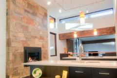 Modern Kitchen Light Fixtures - Bright Kitchen Renovation - Colorado Springs