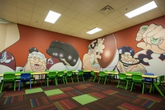 Sport Mural Kids Church - Discovery Church
