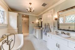 Beautiful Dutch Colonial Duo Bathroom