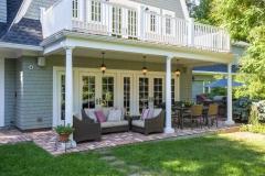 Dutch Colonial Inspired Backyard Design