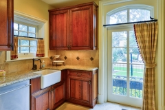 Traditional French Manor Sink & Full Length Window
