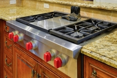 Traditional French Manor Stove Top