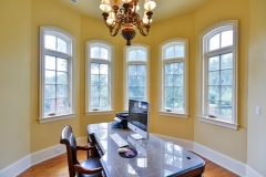 Bright French Manor Home Office