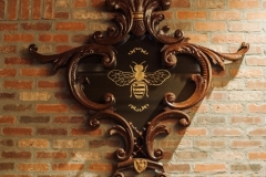 Golden Bee Detail - Broadmoor Commercial Remodel Colorado Springs