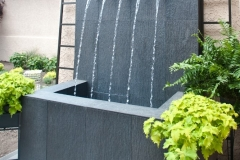 Beautiful Modern Art Home Fountain - Home Renovations in Colorado Springs Area