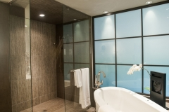 Modern Bathroom Inspired Renovation Created By Bob McGrath Construction - Renovation Contractors Near Me