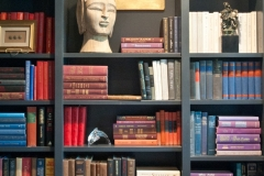 Modern Bookshelf Installation, Construction & Decor - Colorado Springs - Bob McGrath Construction