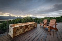 Beautiful Mountain Home Outdoor Deck Design - Front Range Mountain Home Colorado