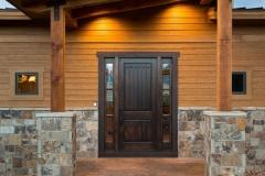 Mountain Home Entryway Installation - Colorado Mountain Home Design