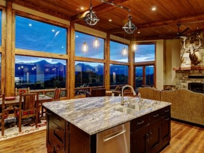 Bob McGrath Construction Custom Mountain Home